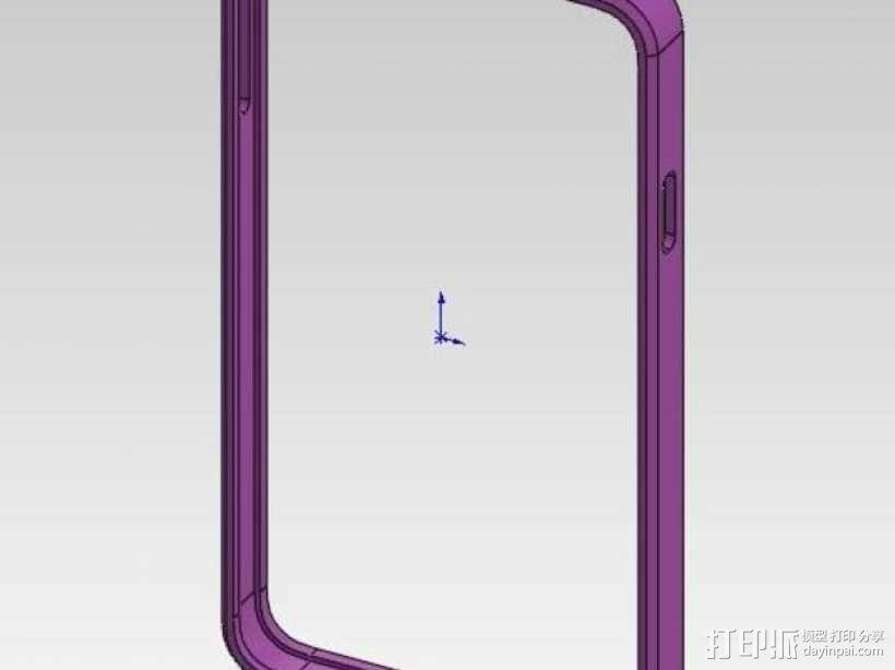 三星Galaxy Note 3 手机套 3D模型  图9