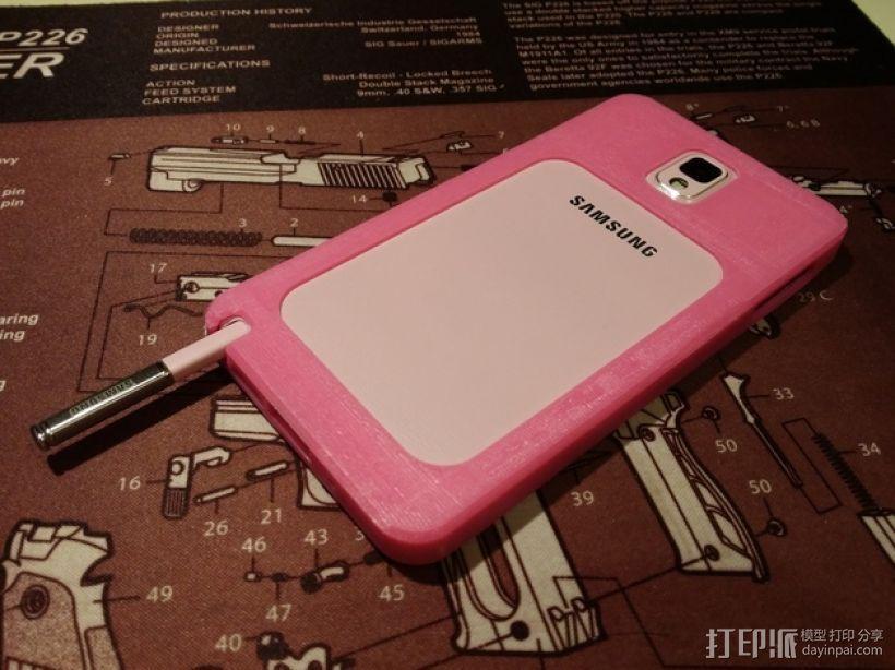 三星Galaxy Note 3 手机套 3D模型  图16