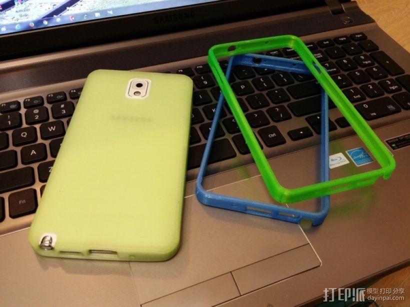 三星Galaxy Note 3 手机套 3D模型  图19