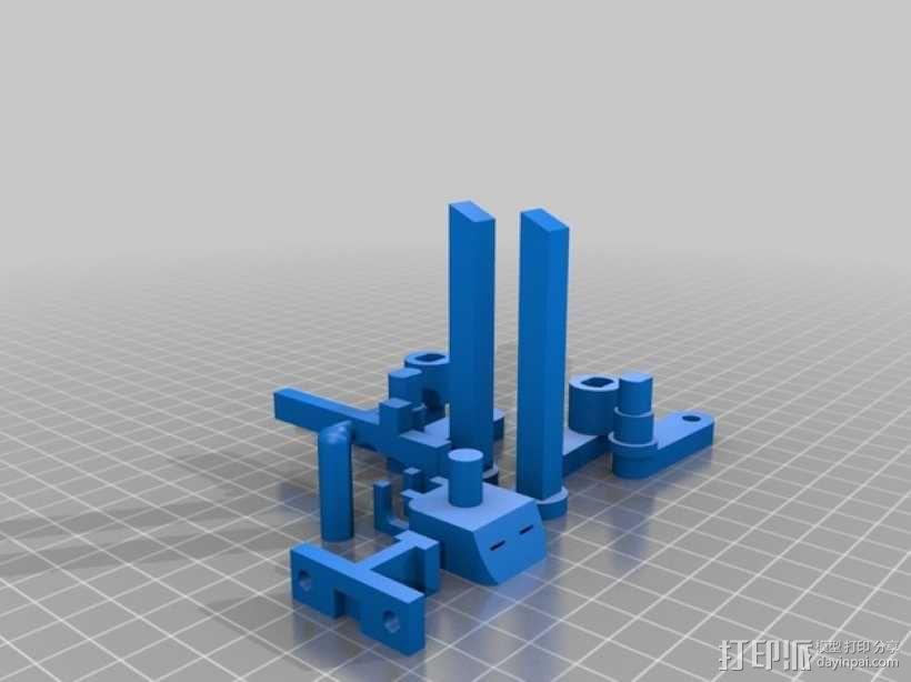 弩炮 弹弓 3D模型  图3
