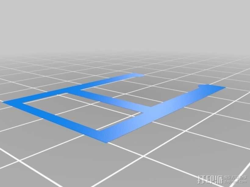 BI V2.0 3D打印机 3D模型  图25