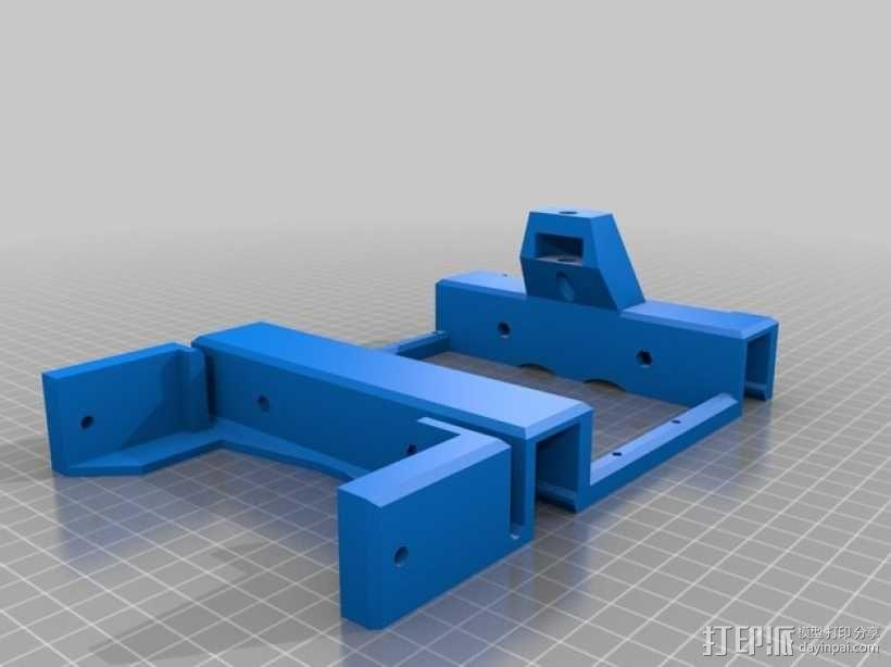 BI V2.0 3D打印机 3D模型  图27