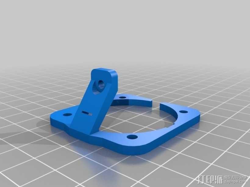 BI V2.0 3D打印机 3D模型  图35