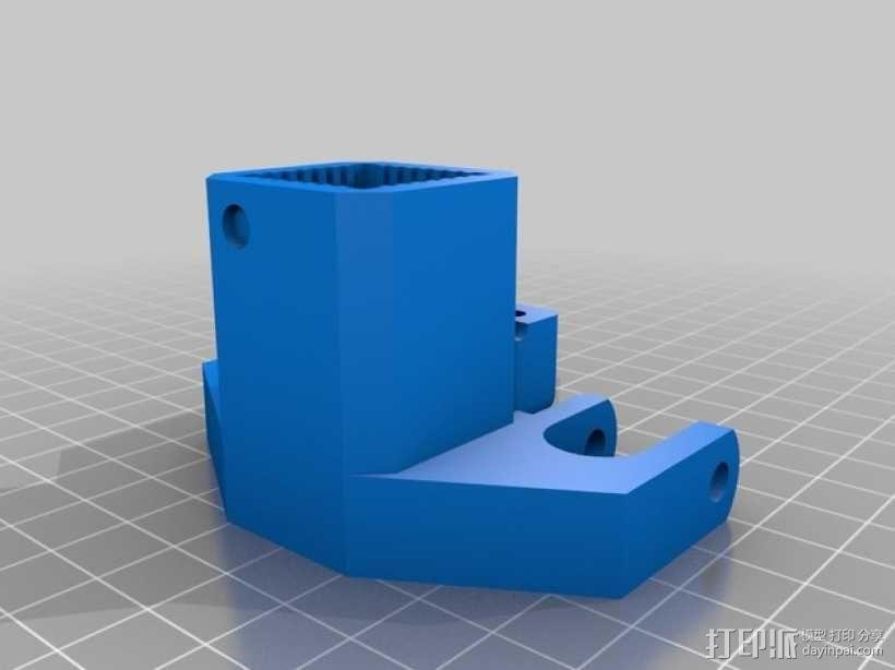 BI V2.0 3D打印机 3D模型  图39