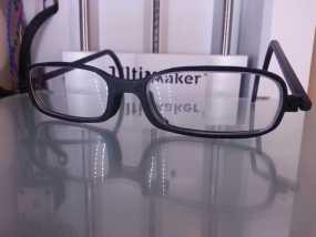 眼镜框 3D模型