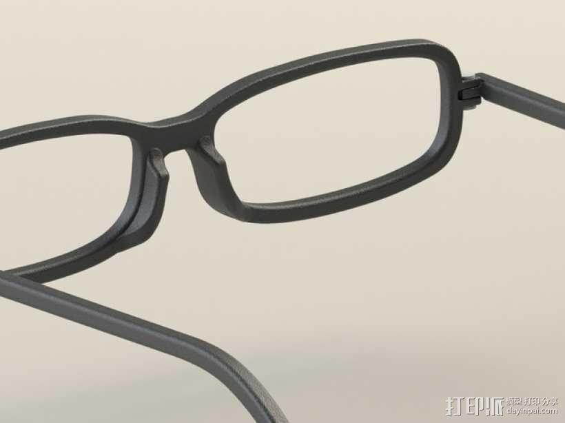 眼镜框 3D模型  图6