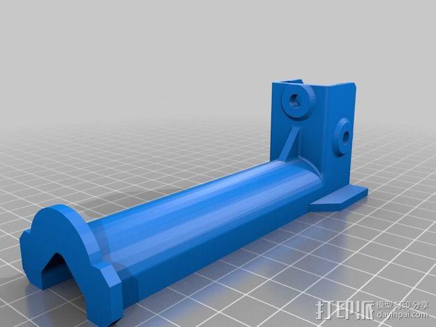 Kossel打印机线轴架 3D模型  图2