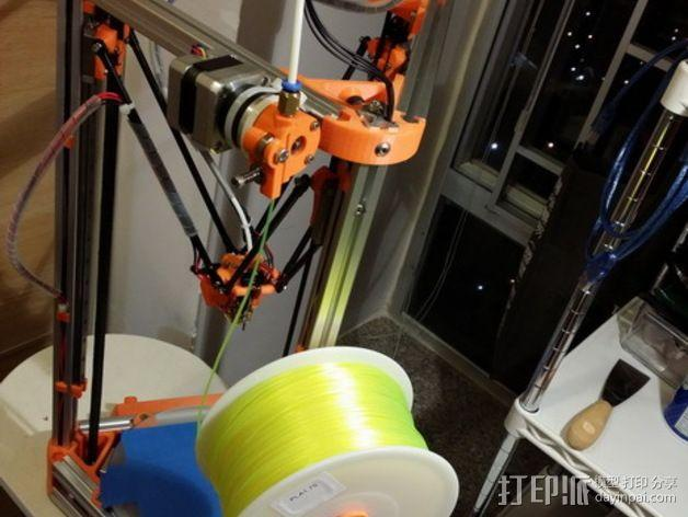 Kossel打印机线轴架 3D模型  图6