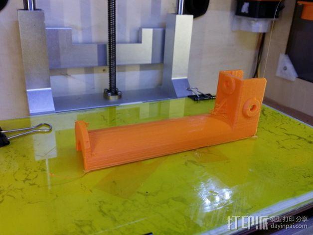 Kossel打印机线轴架 3D模型  图11