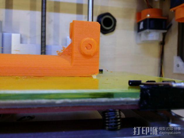 Kossel打印机线轴架 3D模型  图12