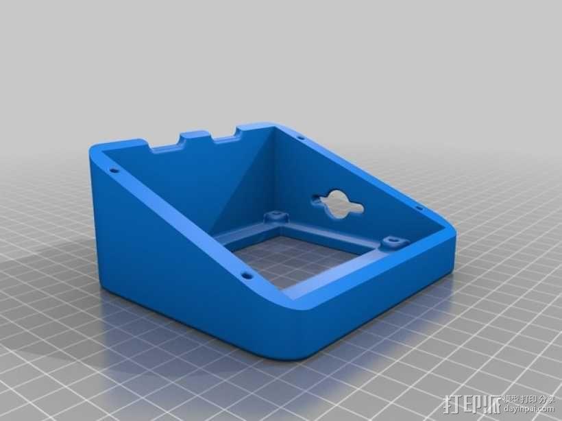 智能控制器LCD显示屏保护盒 3D模型  图6