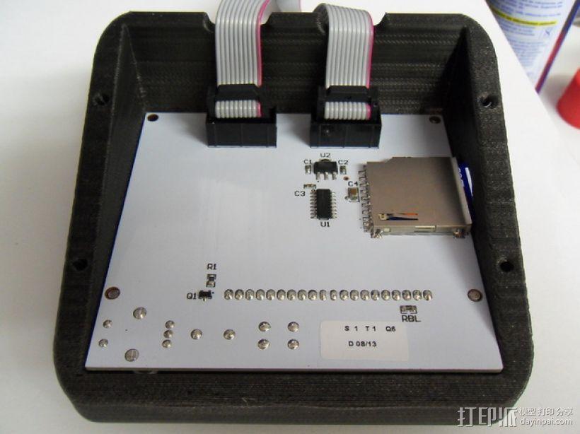 智能控制器LCD显示屏保护盒 3D模型  图10