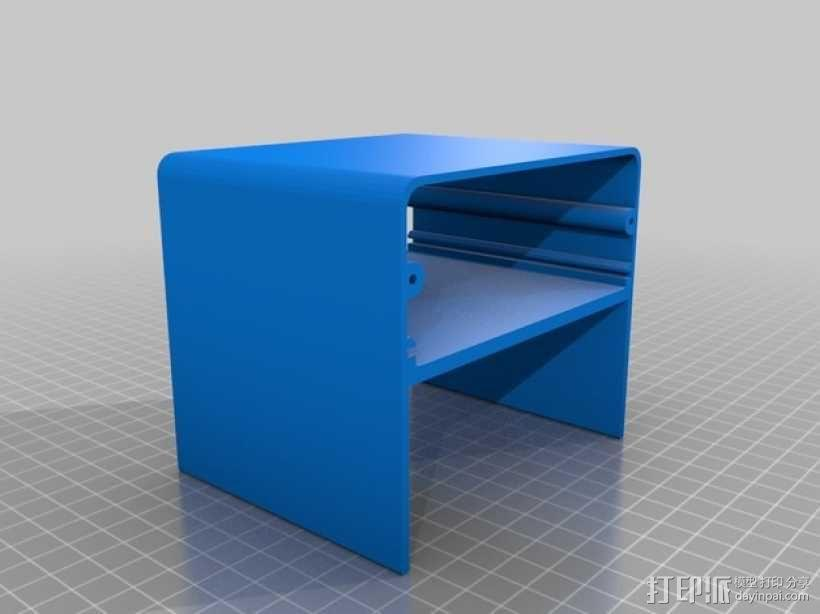 Octoprint/Raspberry Pi电源保护盒 3D模型  图3