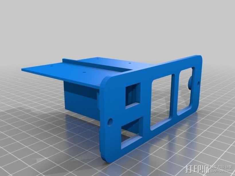 Octoprint/Raspberry Pi电源保护盒 3D模型  图4