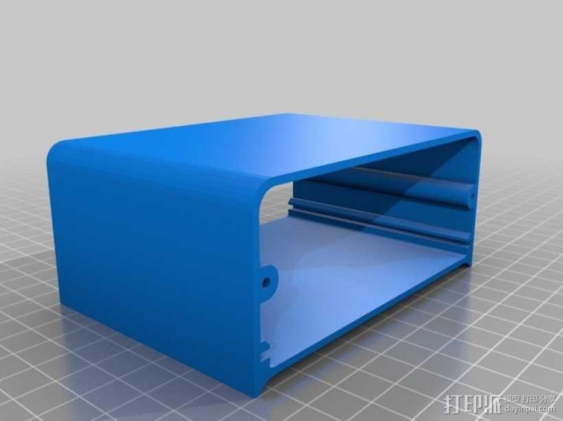 Octoprint/Raspberry Pi电源保护盒 3D模型  图5