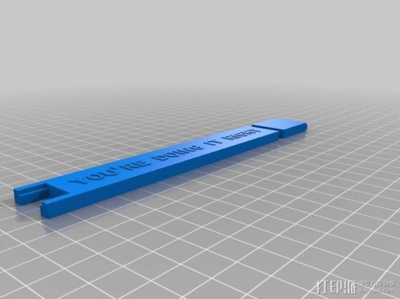 Robo3D打印机线轴架 3D模型  图2