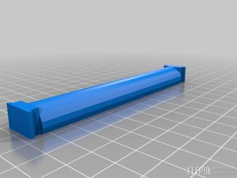 Robo3D打印机线轴架 3D模型  图5