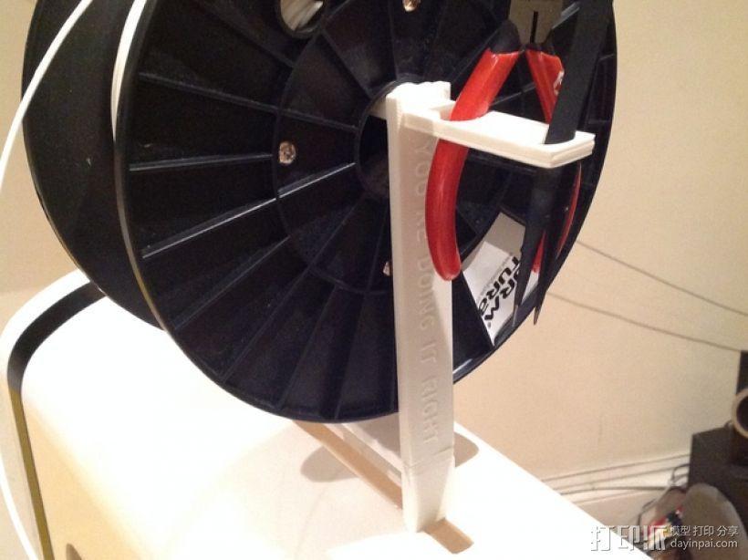 Robo3D打印机线轴架 3D模型  图7