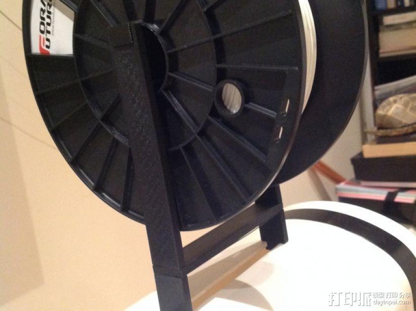 Robo3D打印机线轴架 3D模型  图9