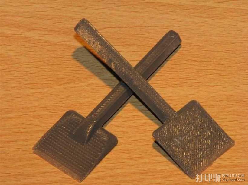 小铲子 3D模型  图1