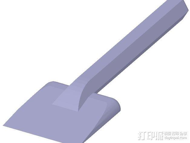 小铲子 3D模型  图3