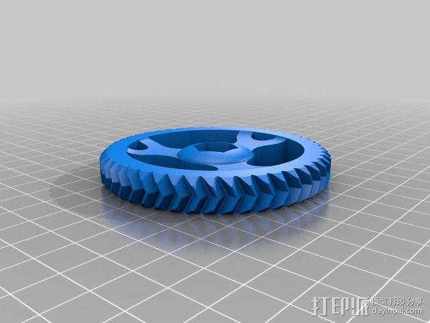 MakerFarm挤出机部件 3D模型  图4