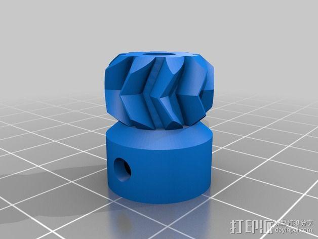 MakerFarm挤出机部件 3D模型  图5