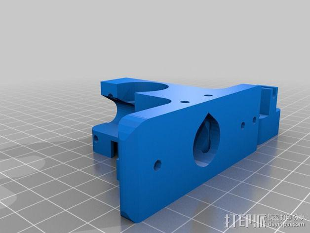 Radus Prusa i2打印机部件 3D模型  图2