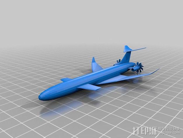 飞机模型 3D模型  图7