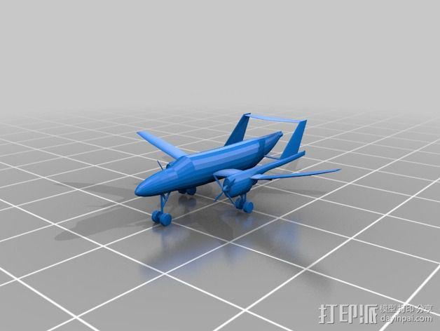 飞机模型 3D模型  图8
