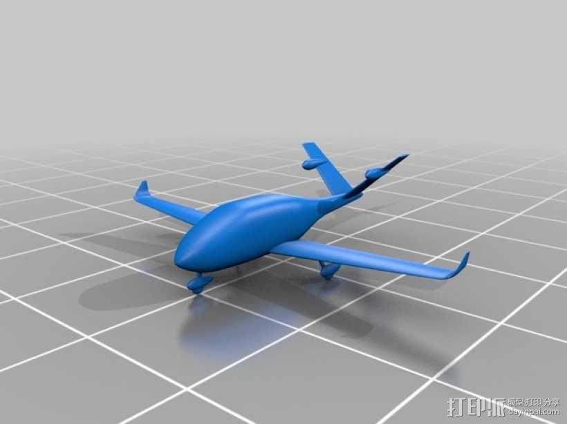 飞机模型 3D模型  图10