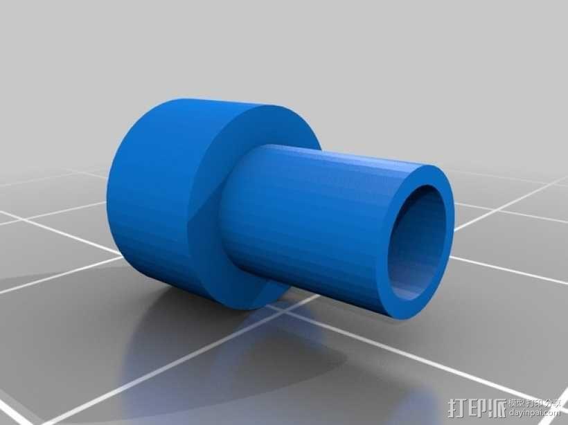 Replicator挤出机 3D模型  图3
