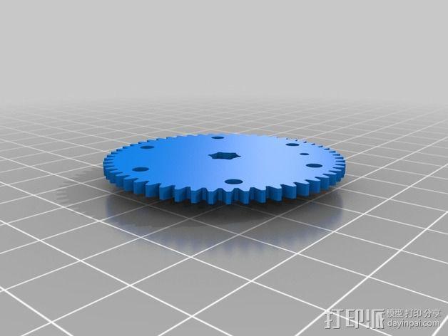 刻度盘指示器 3D模型  图8