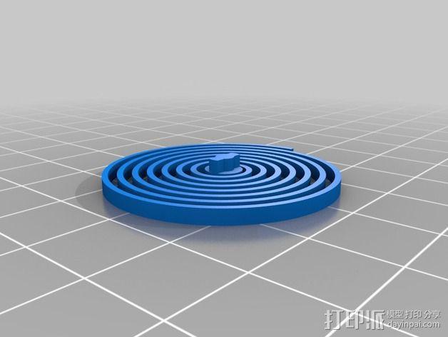 刻度盘指示器 3D模型  图11
