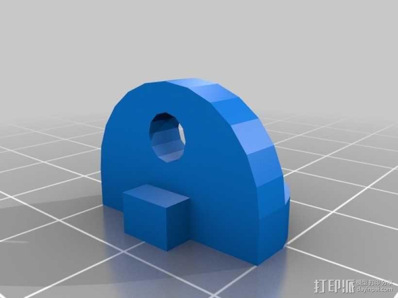 Kossel 打印机 3D模型  图3