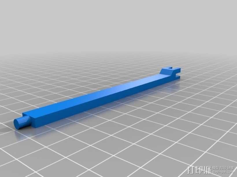 Kossel 打印机 3D模型  图5
