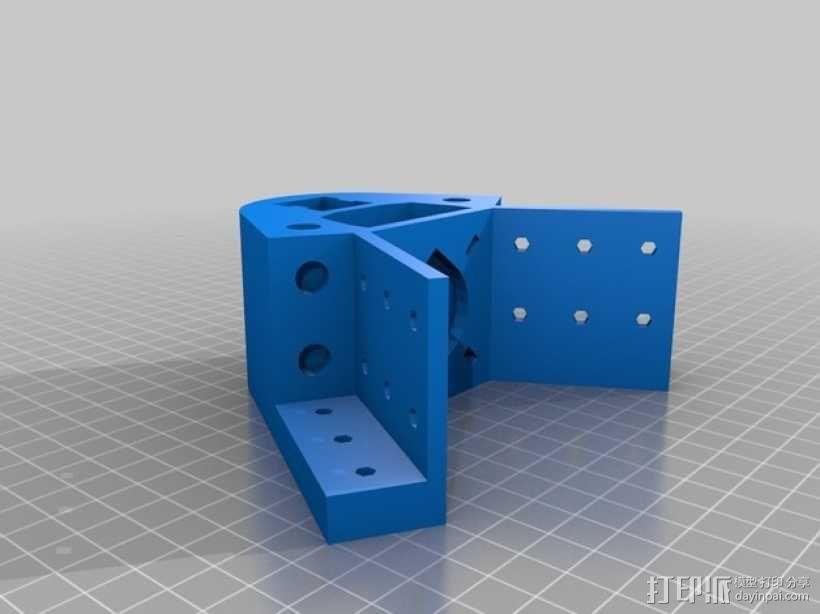 Kossel 打印机 3D模型  图7