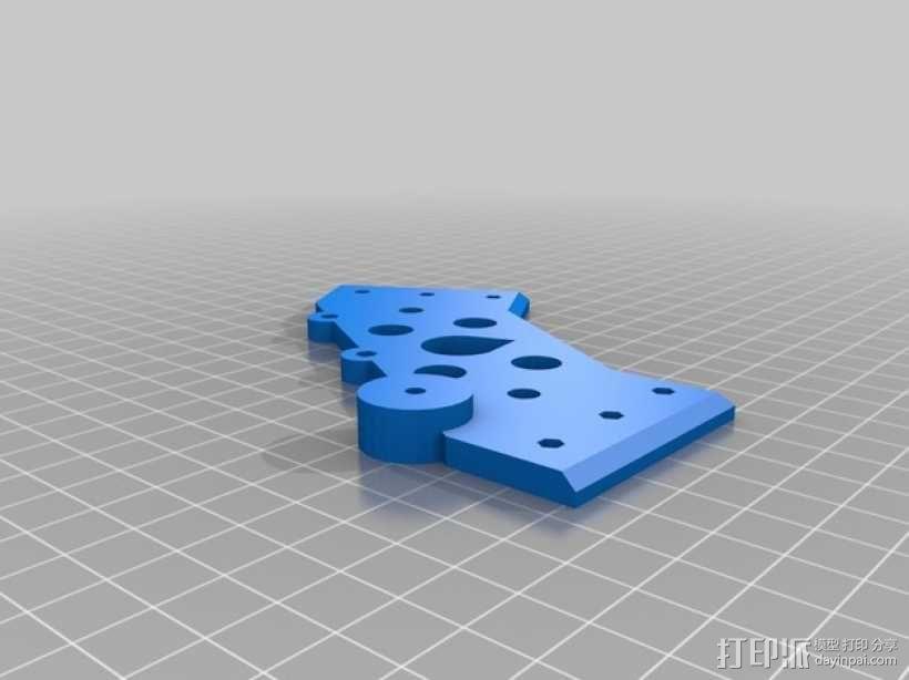 Kossel 打印机 3D模型  图12