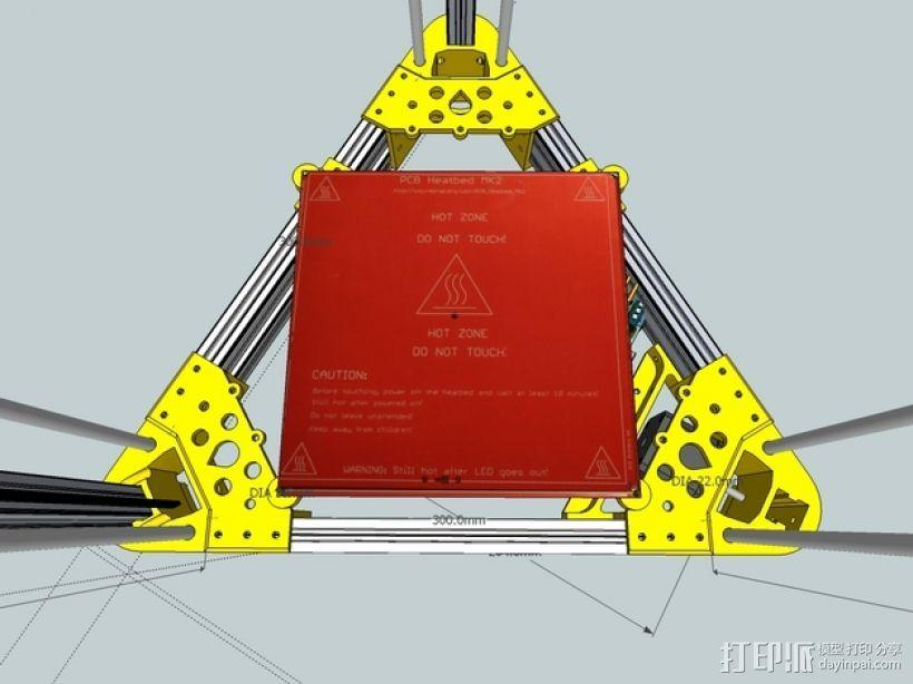 Kossel 打印机 3D模型  图11