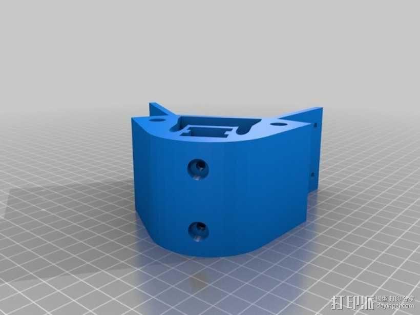 Kossel 打印机 3D模型  图15