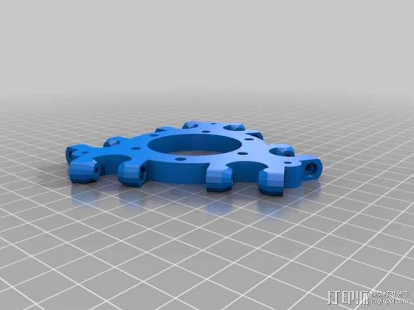 Kossel 打印机 3D模型  图24