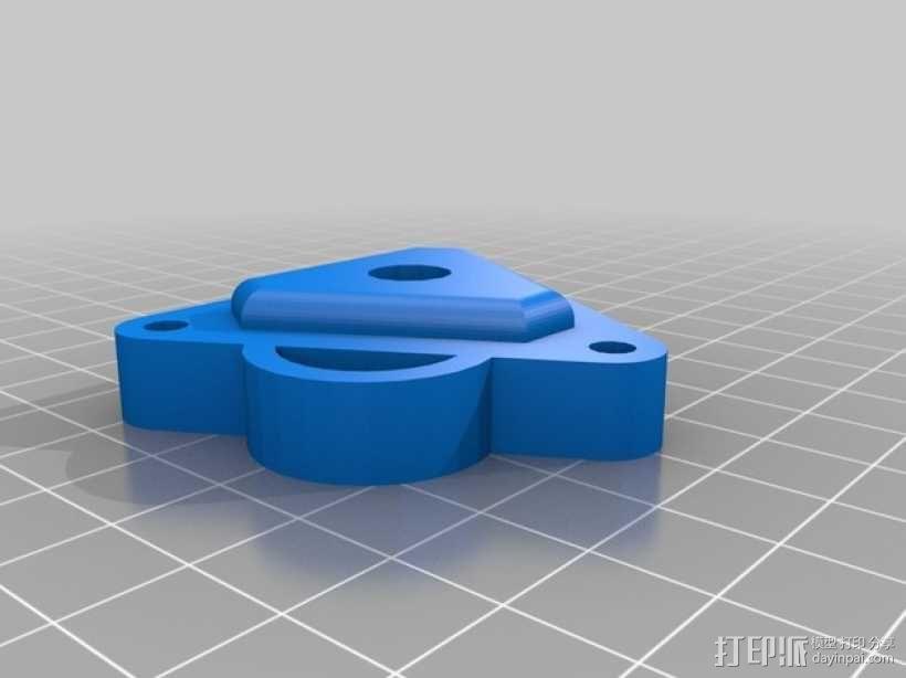 Kossel 打印机 3D模型  图23