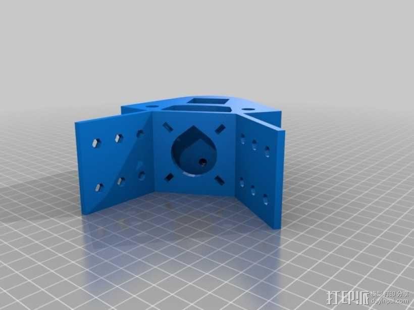 Kossel 打印机 3D模型  图25