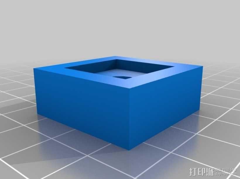 Kossel 打印机 3D模型  图27
