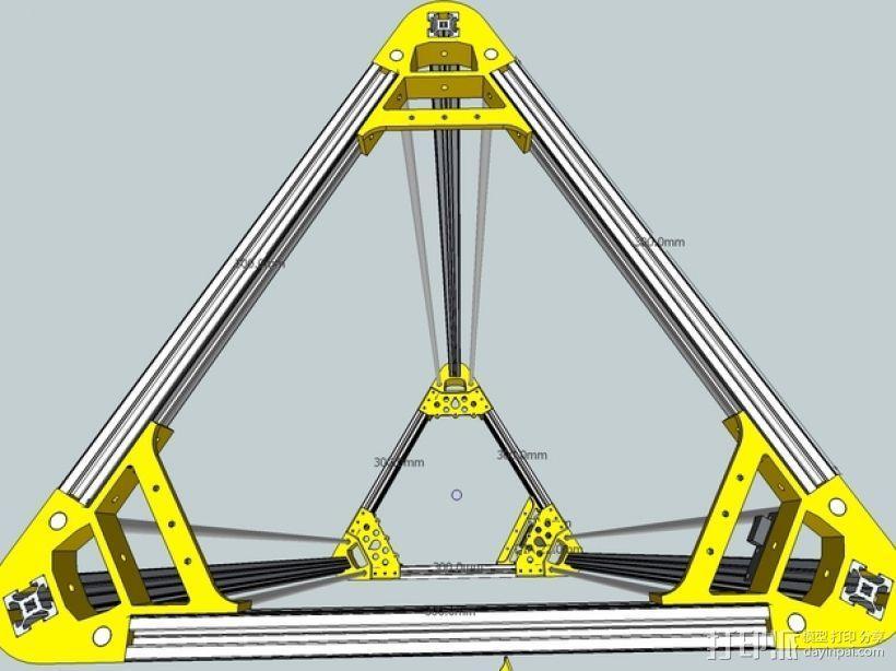 Kossel 打印机 3D模型  图29