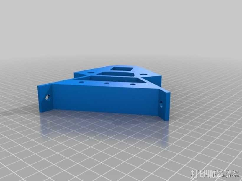 Kossel 打印机 3D模型  图32