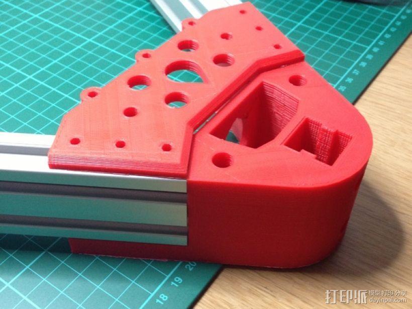 Kossel 打印机 3D模型  图35