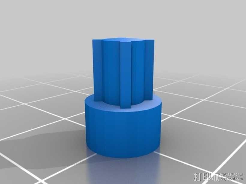 Kossel 打印机 3D模型  图34