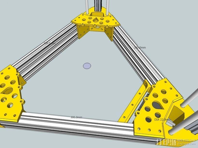 Kossel 打印机 3D模型  图37