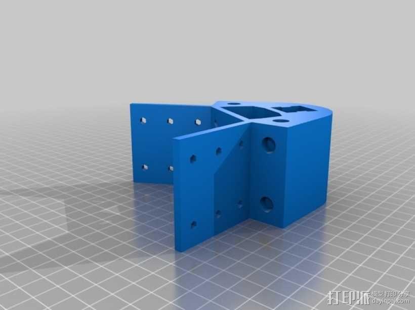 Kossel 打印机 3D模型  图41